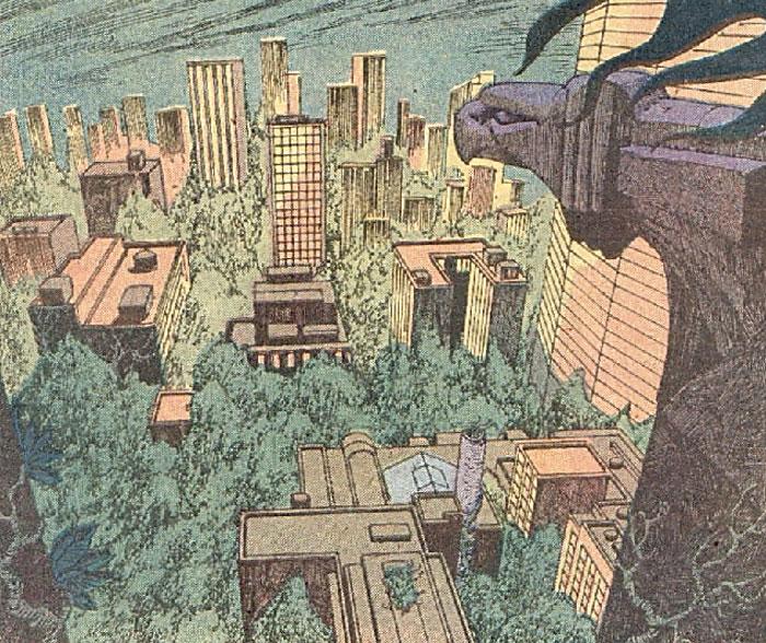 Gotham City Swamp Thing