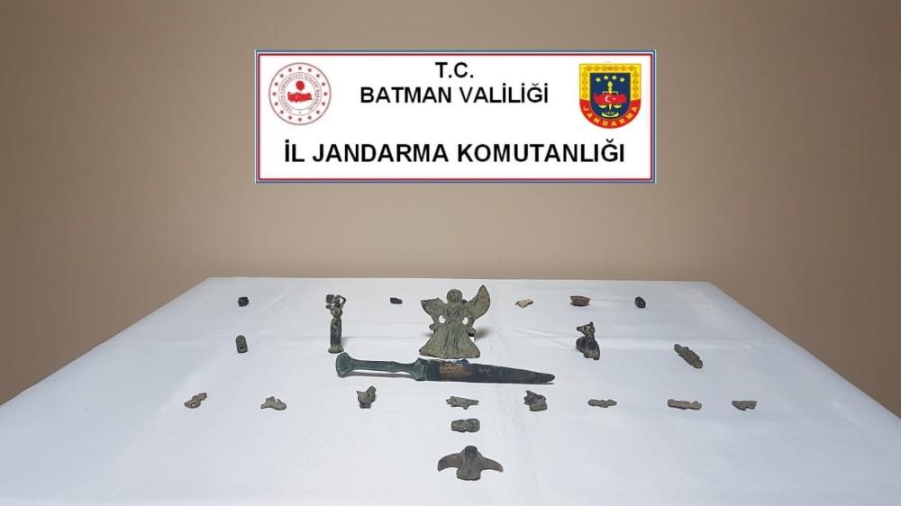 Batman'da tarihi eser kaçakçılığı operasyonu