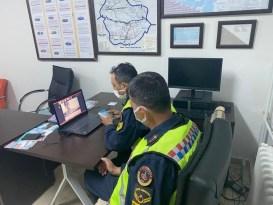 Gercüş'te jandarma ekiplerinden öğrencilere online trafik eğitimi