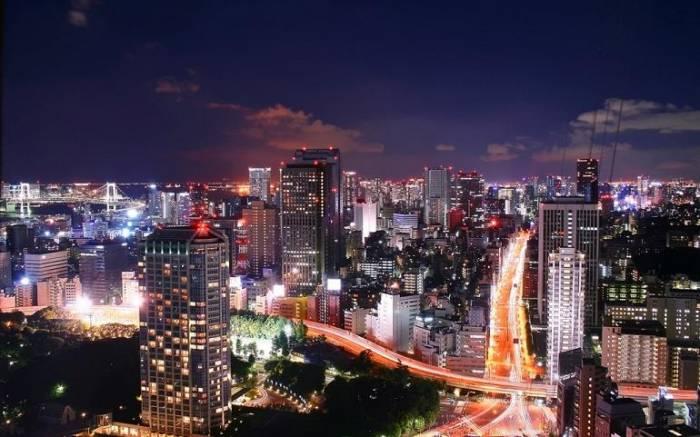 Токио. Самый большой город в мире (8 фото)