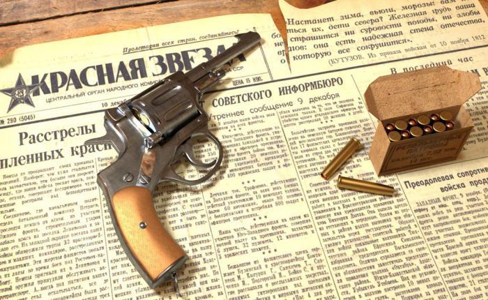 Наган: легендарное оружие НКВД (8 фото)
