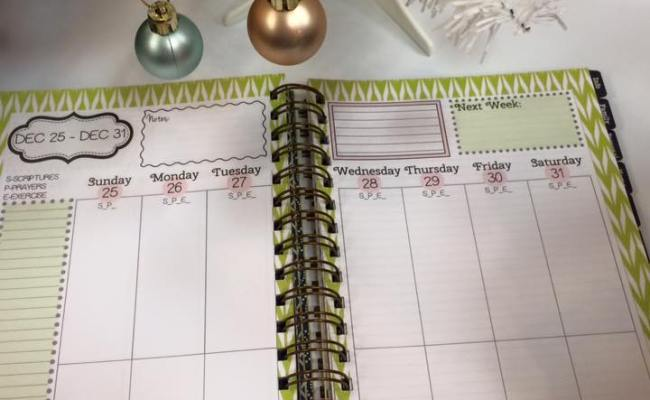 A Faithful Mom Planner Giveaway Video Review Baton