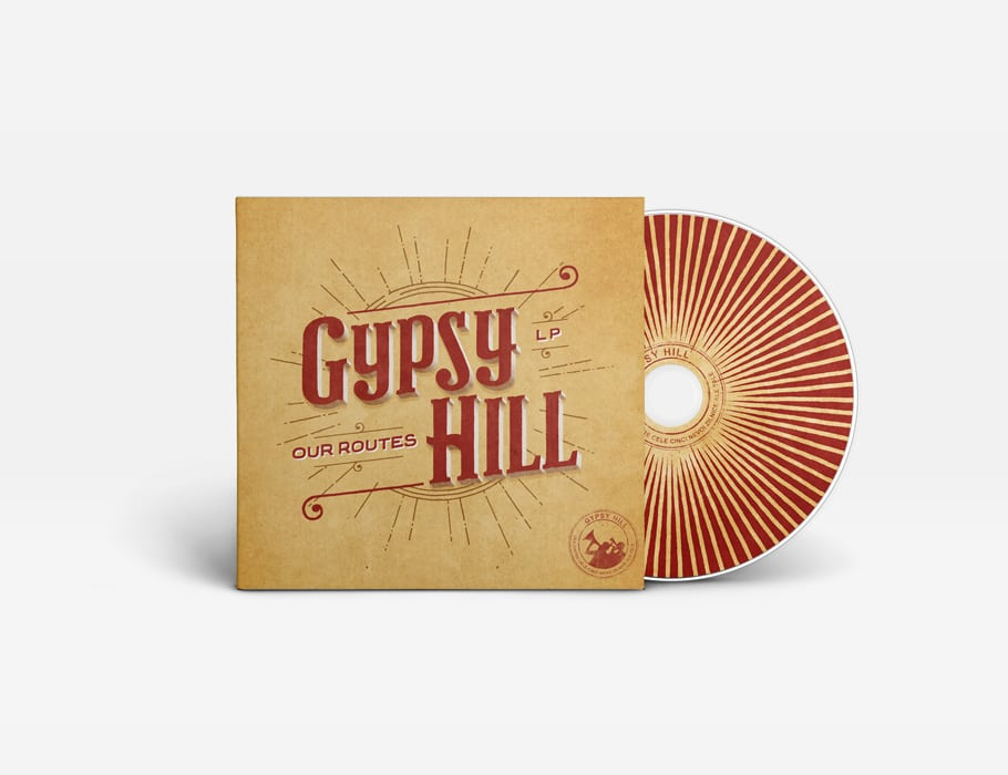 Gypsy Hill - 'Our Routes' - cd