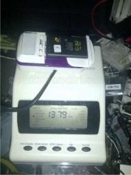 Baterai Idol CS2 1250mAh, hasil test 1379mAh