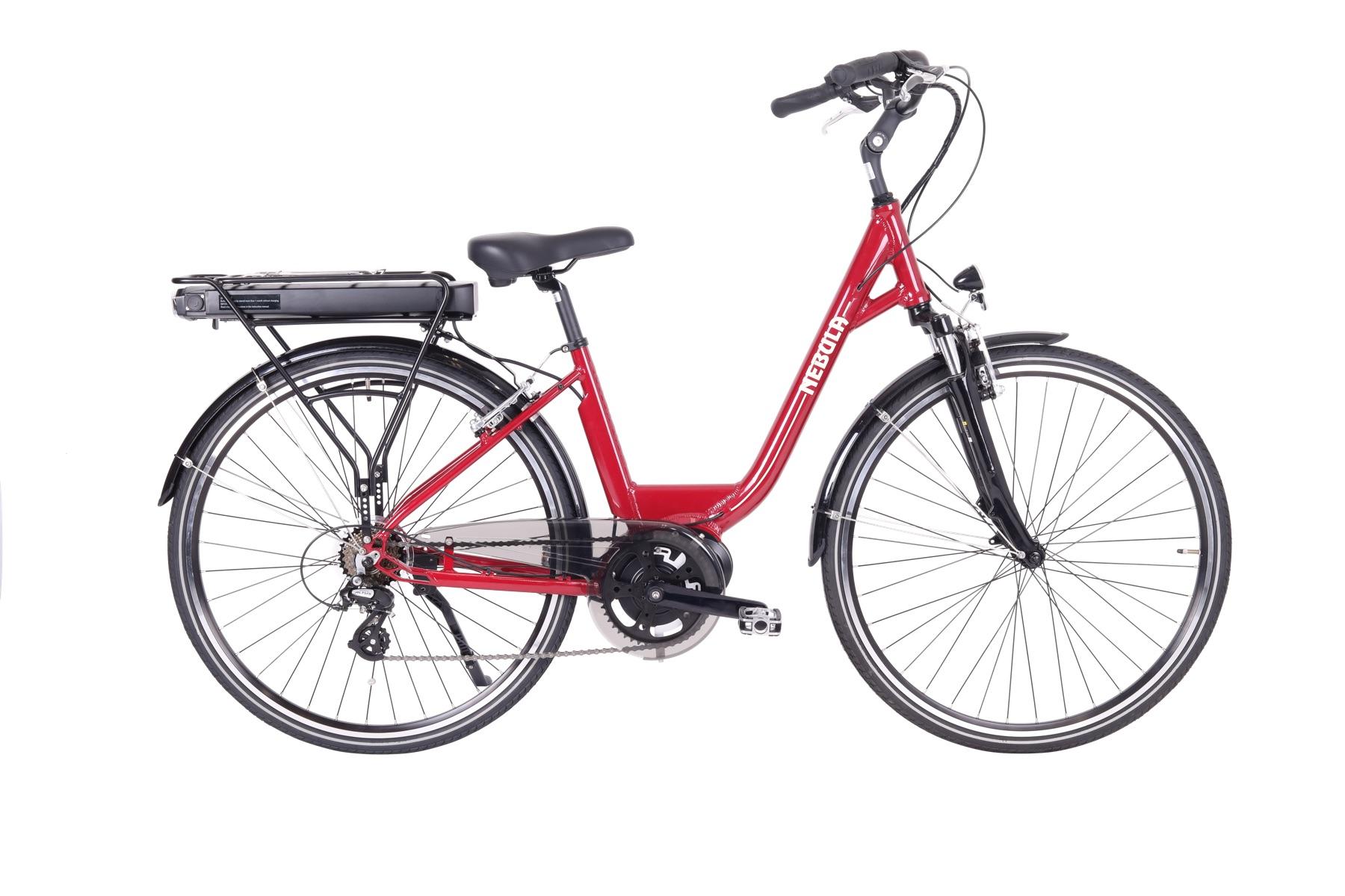 Nebula Mid Motor E Bike For Confident Riding