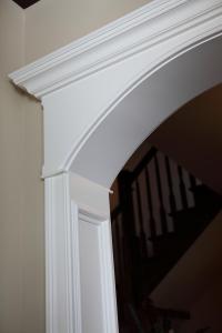 Arched Wood Door Trim. arched door trim. arched interior ...