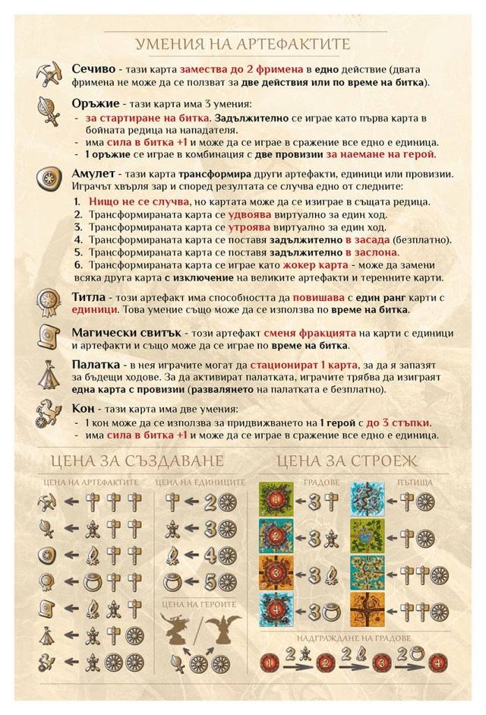 BATTALIA - REFERENCE SHEET C-Edition - EMBERIANS BG - WEB v1.0