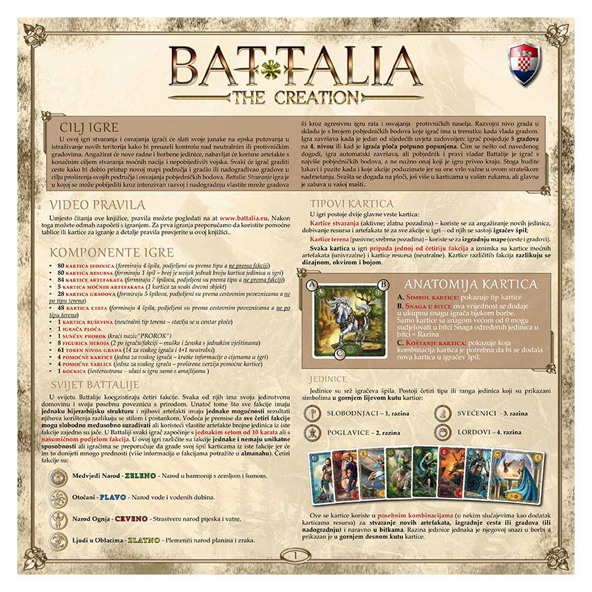 BATTALIA - RULEBOOK OLD - CROATIAN - WEB v1.0