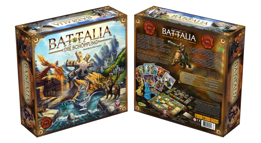BATTALIA: Die Schöpfung - 3D Box L2+BR2 - CEdition 2015 - DE - HQ1500