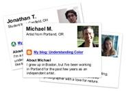 Profilecards