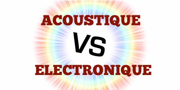 Batterie Acoustique VS Batterie Electronique : combat de choc !