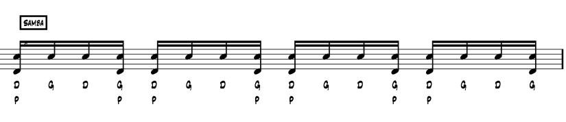 double coup samba