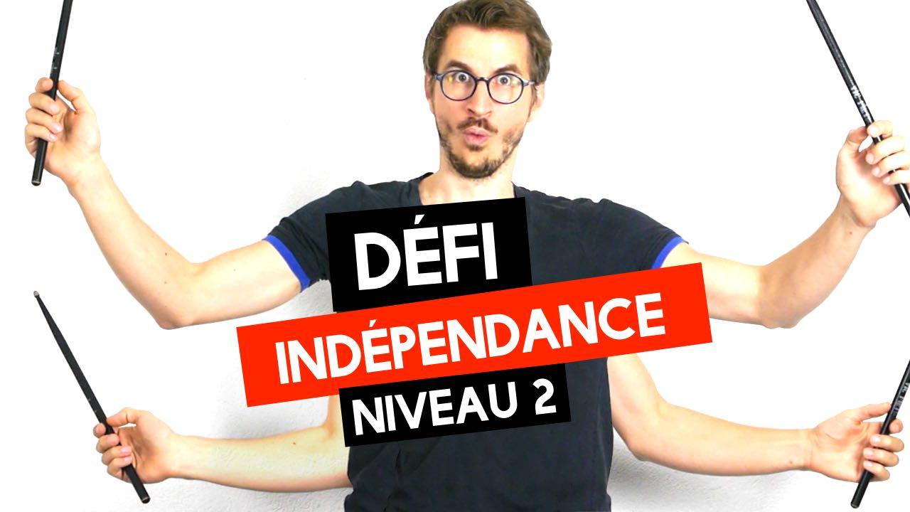 Défi Indépendance Niveau 2