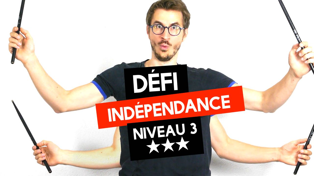 Défi Indépendance Niveau 3
