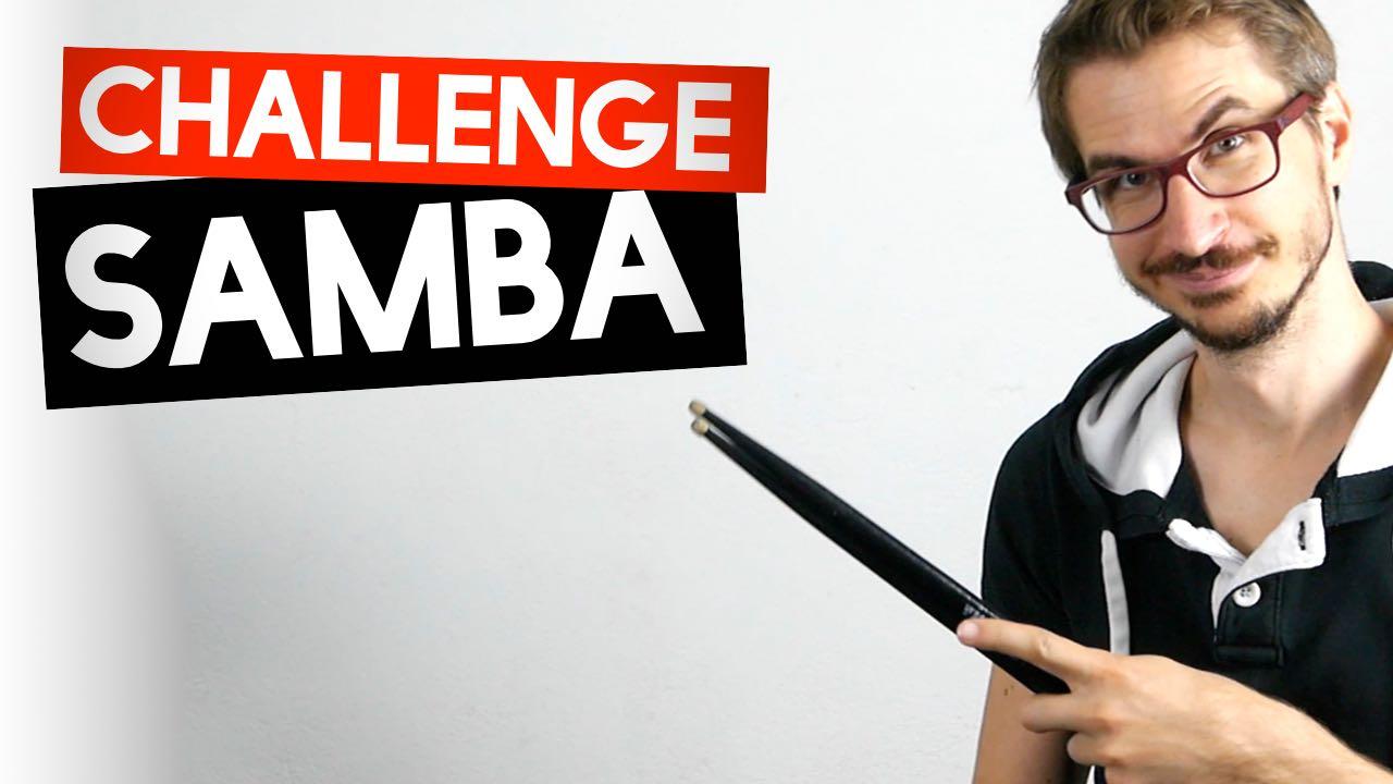 Challenge SAMBA : Êtes-vous capable de jouer ce rythme ?