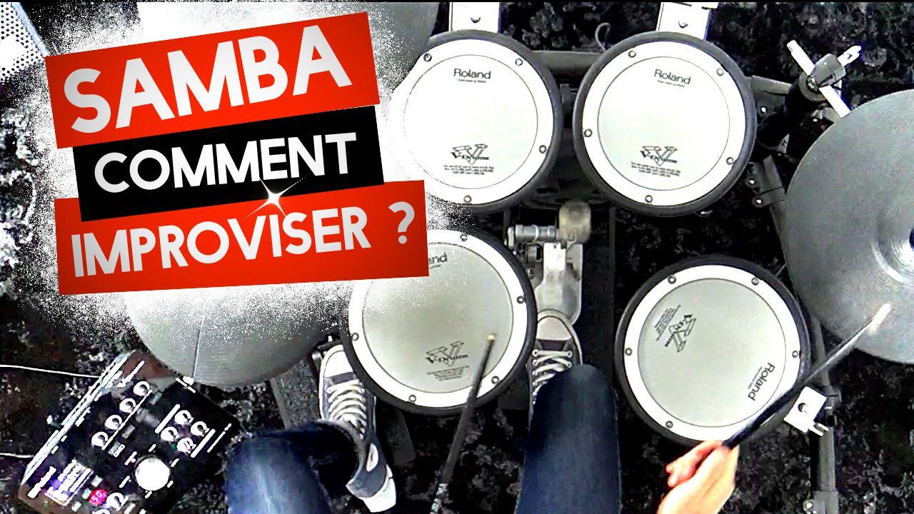 SAMBA : En route vers l'improvisation