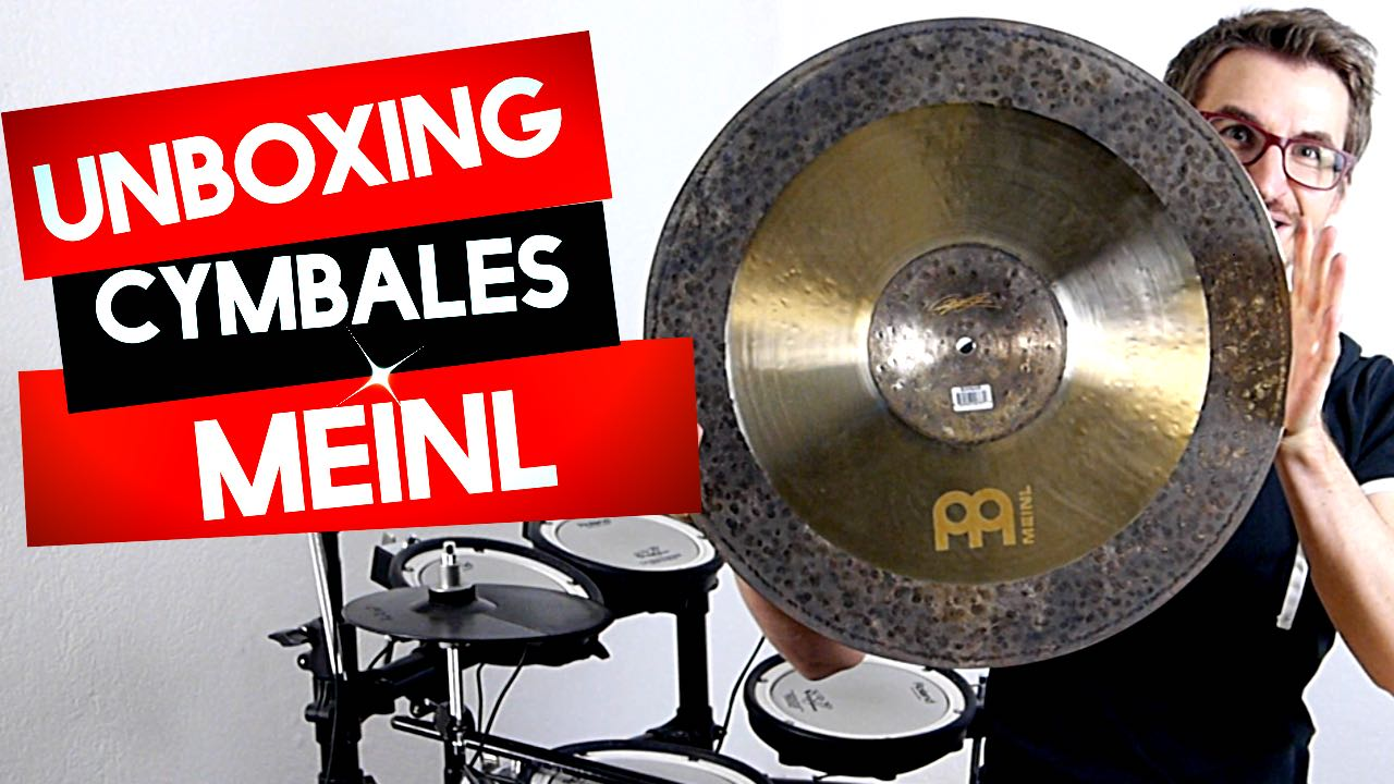 [Unboxing] Pack Cymbale MEINL