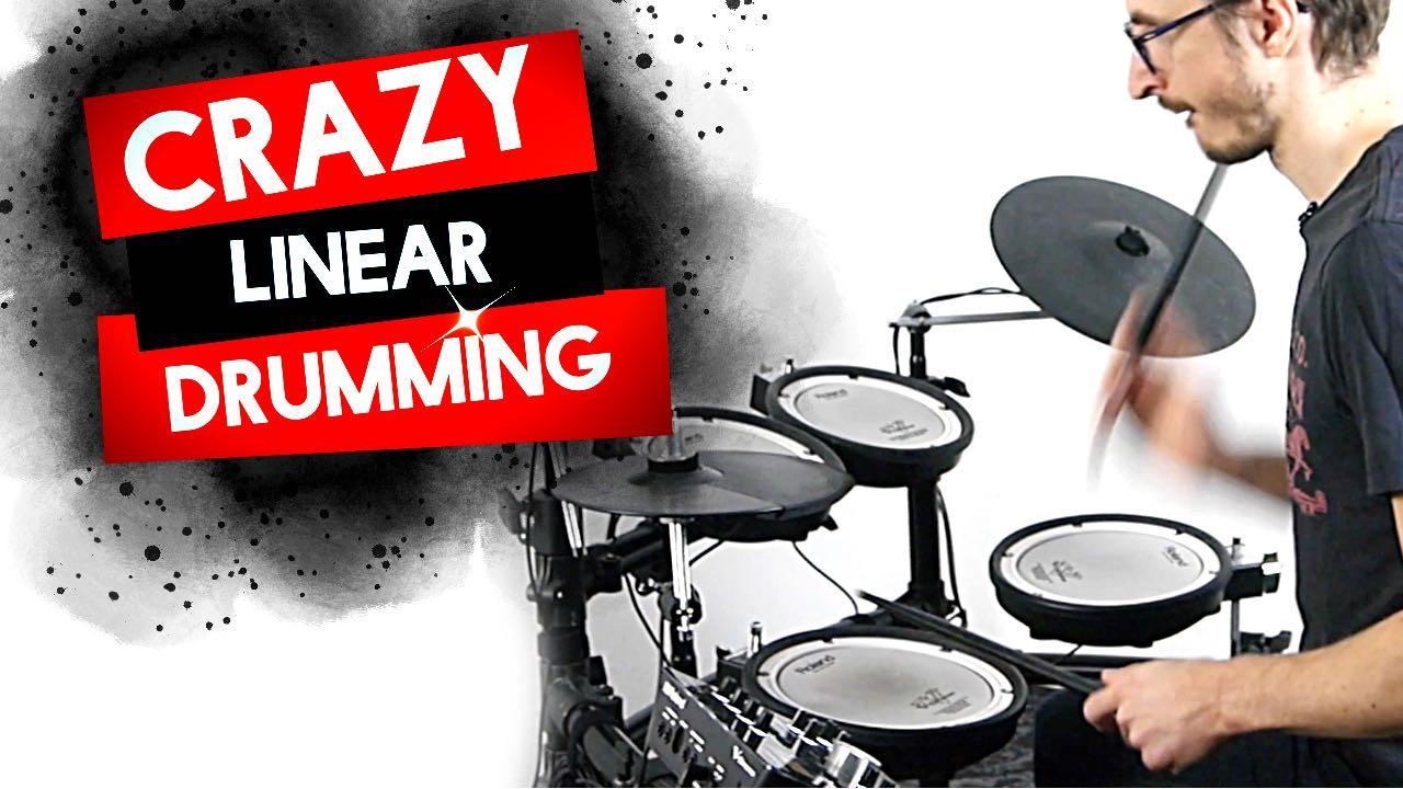 [Groove Avancé] Crazy Linear Drumming