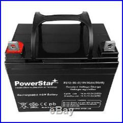 Liberty 312 Power Chair Battery Posturepedic Office 2 Pack 12v 35ah Revolution Mobility