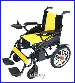 yellow wheelchair fisher price activity chair foldable lightweight heavy duty lithium battery electric power