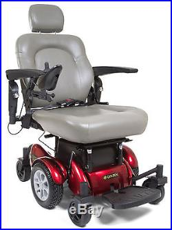 golden power chair covers recliner compass hd mobility electric wheelchair with batteries new