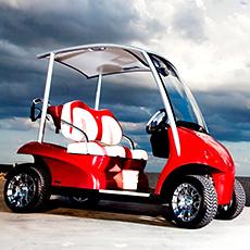 Batterie voiturette et Caddy de golf