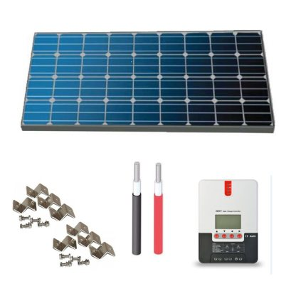 panneau solaire et controleur de voltage