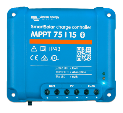 Controleur de voltage MPPT victron 75 15