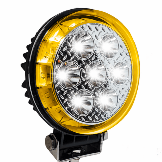 projecteur led blanc strboscopuque ambre 360