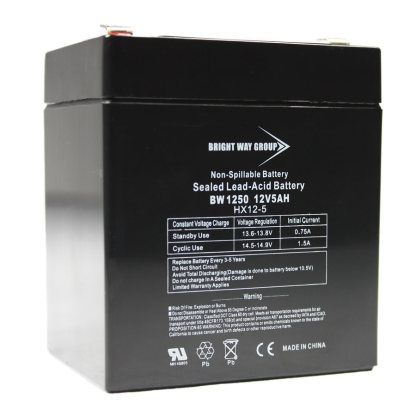 BW1250 batterie alarme