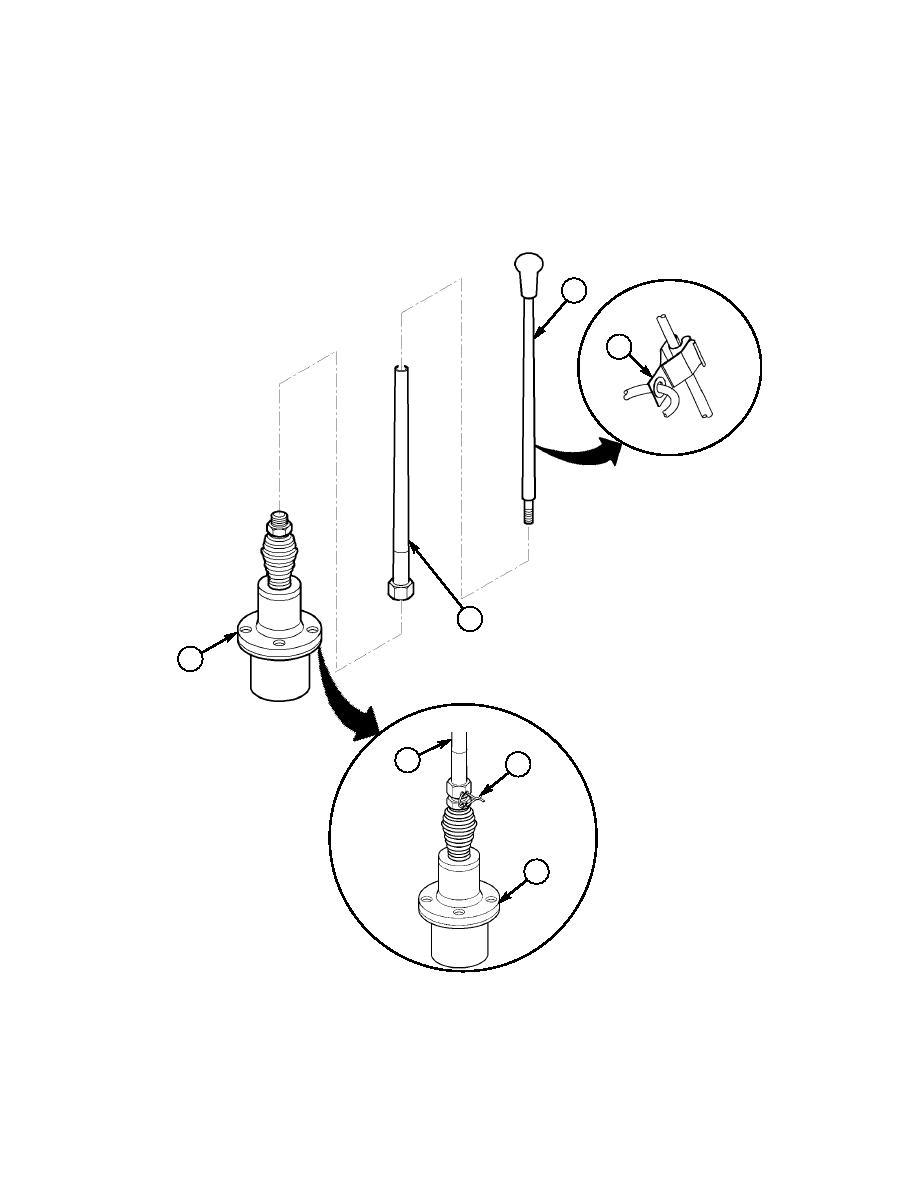 Section XXVII. LEFT-SIDE SINCGARS ANTENNA MOUNT