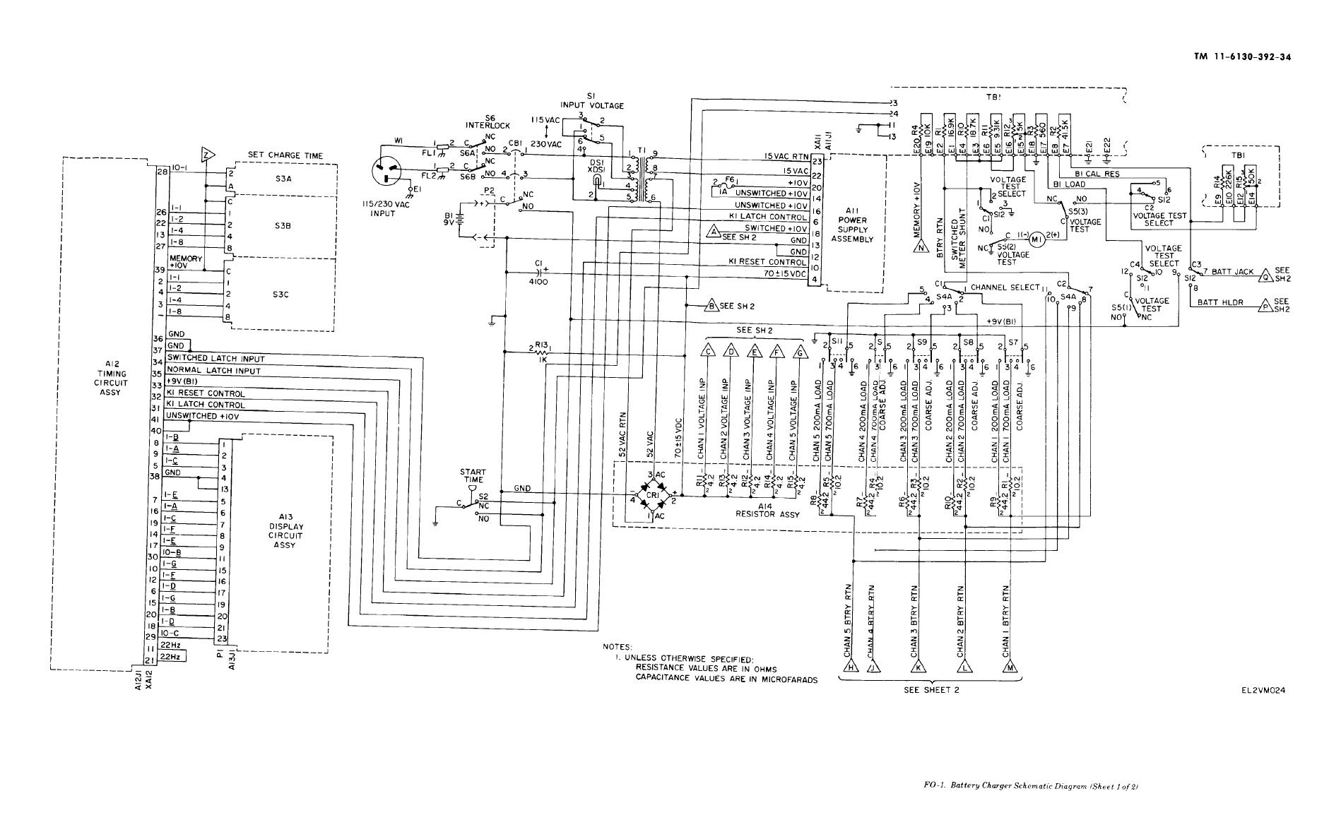 hight resolution of battery charger schematic diagram sheet 1 of 2