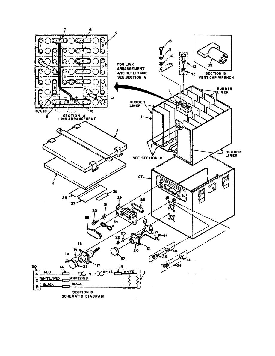 Figure 2-11. Battery, Storage BB-693a/u (Manufactured by