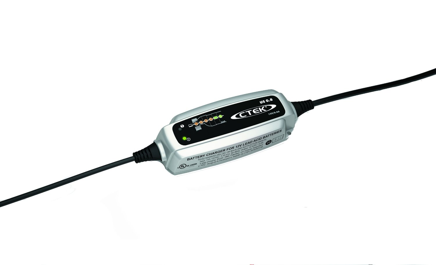 Ctek 56 865 Us 0 8 12 Volt Fully Automatic 6 Step Battery Charger