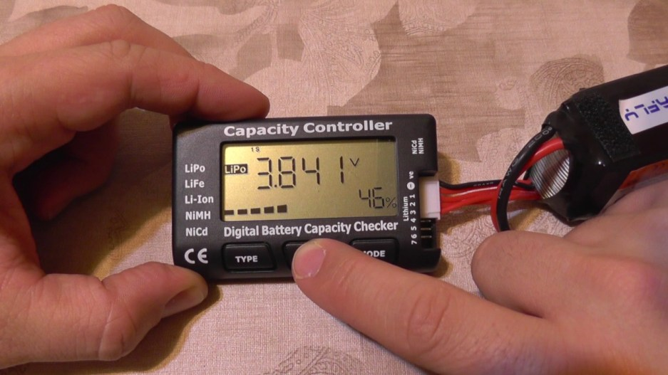Check Voltage of Nicad Battery