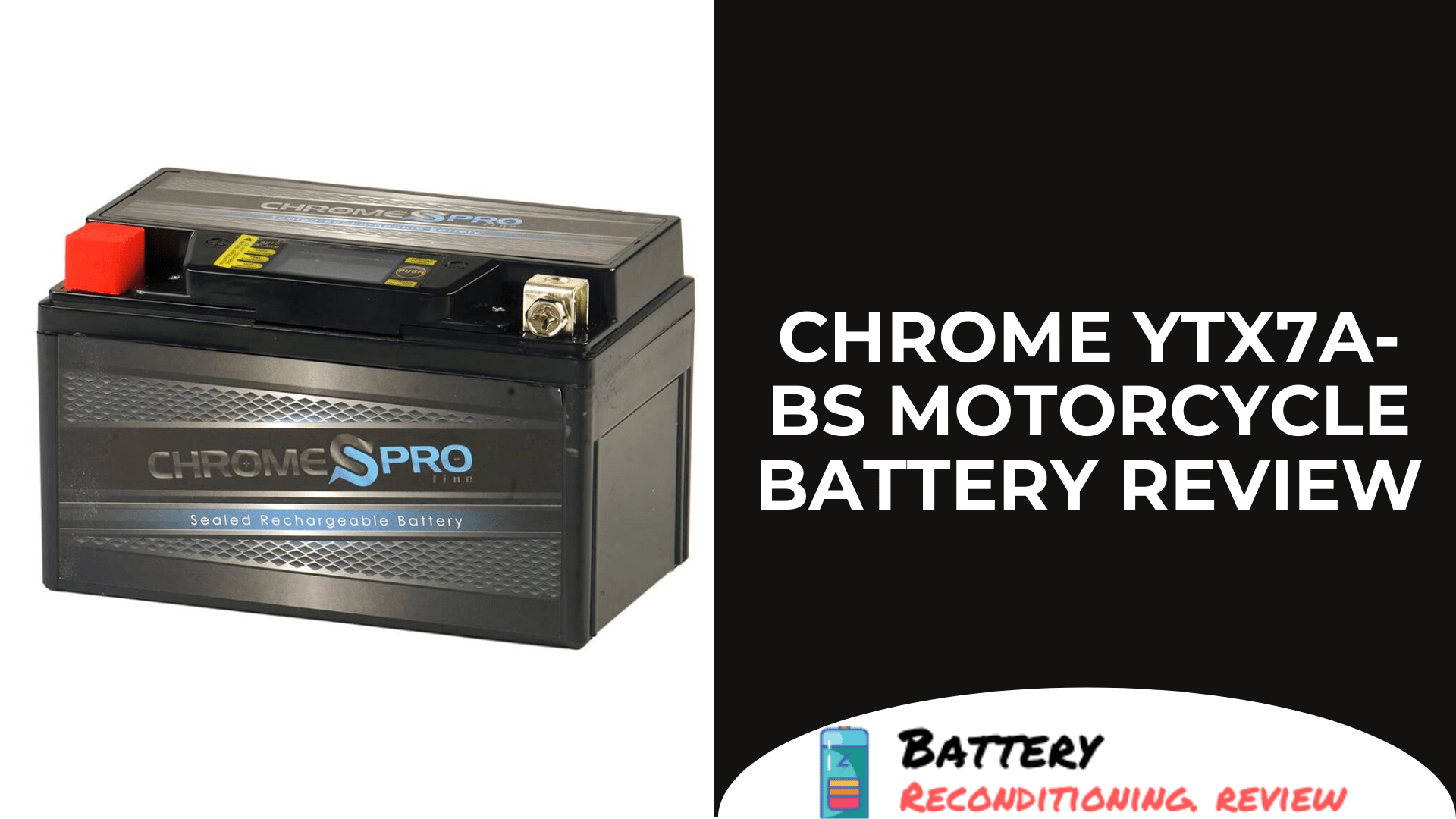 Chrome YTX7A-BS Motorcycle Battery Review