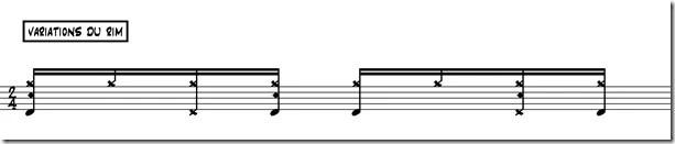 bossa nova variation 1