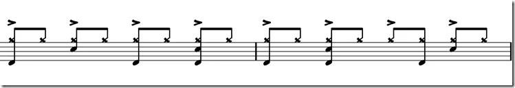rythme de beat it programmé par Jeff Porcaro, l'un des batteurs de Michael Jackson