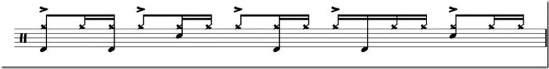 Seven Days rythme avancé et variation charlet