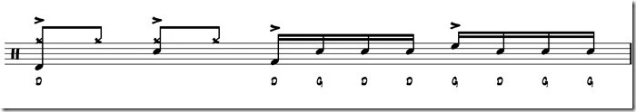 break simple paradiddle 2