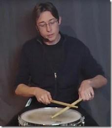 roulement de tambour technique bizarre
