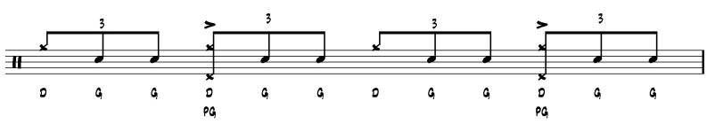 apprendre la batterie jazz  exercice 1