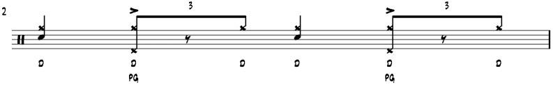 apprendre la batterie jazz  exercice indépendance 1