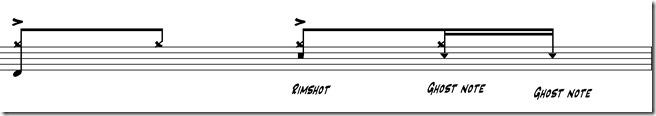 ghost notes deuxième temps 3