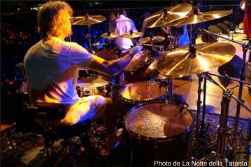 Stewart Copeland batteur de The Police