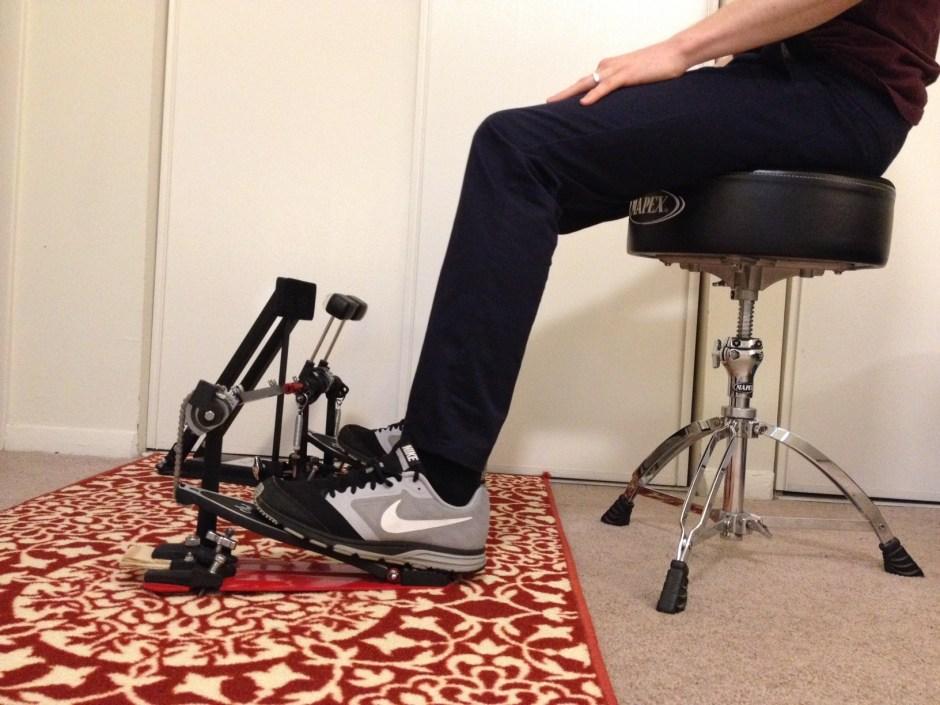 comment regler sa double pedale - position