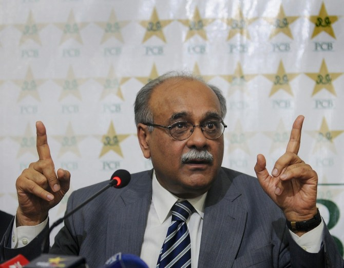 Sethi was back as PCB chairman just two days after he was removed by the Islamabad High Court
