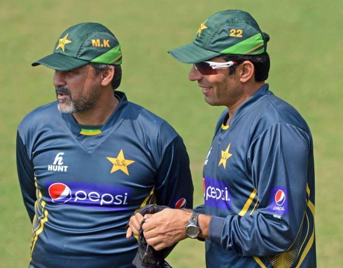 Khan had been the national team's head coach for the past two months