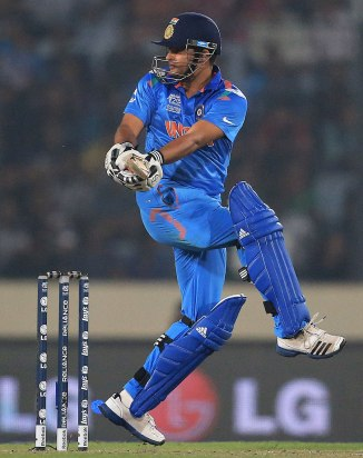 Raina will lead India in Dhoni's absence