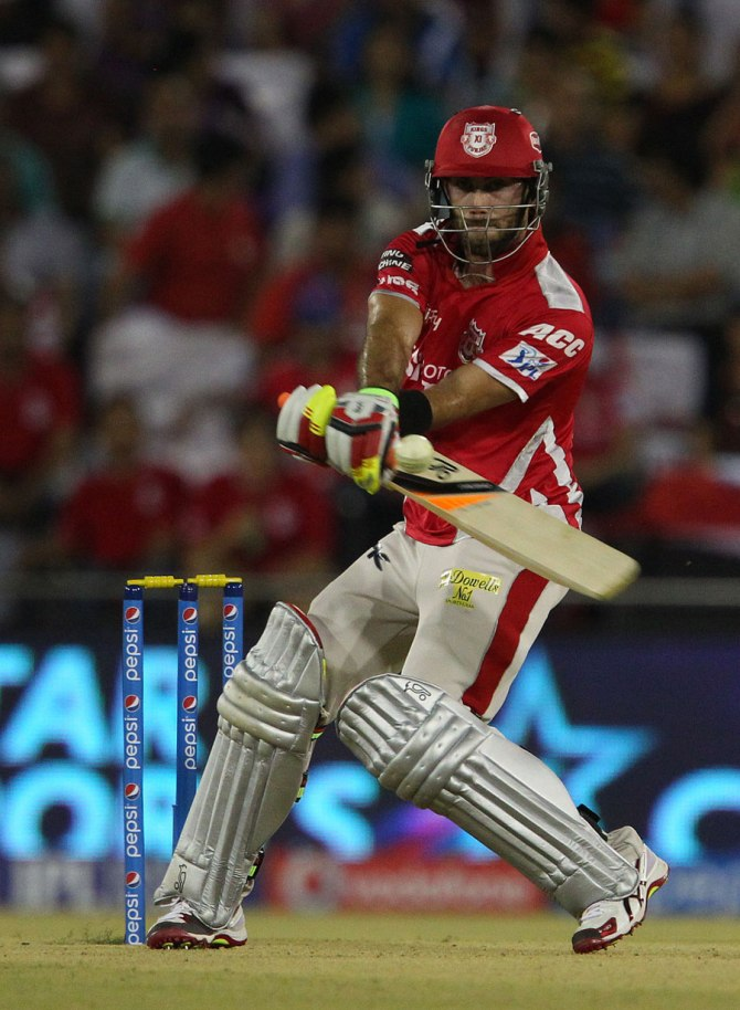Maxwell walloped eight sixes during his superb knock of 90